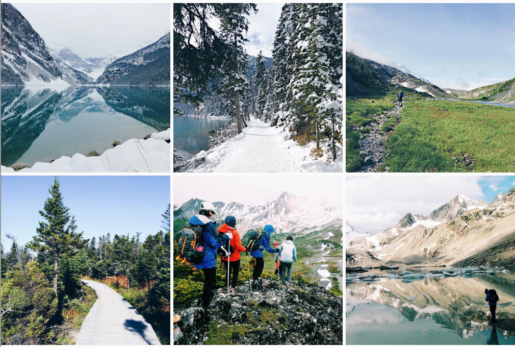 Great Canadian Trails Instagram