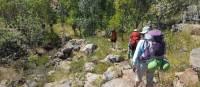 A group of trekking on the Jatbula Trail | Linda Murden