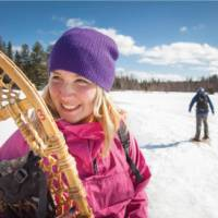 The Algonquin Park offers a perfect setting for winter activities   Goh Iromoto