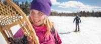 The Algonquin Park offers a perfect setting for winter activities | Goh Iromoto