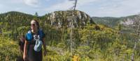 Hiking the optional Mont Du Four trail, Charlevoix | Tourisme Charlevoix, BESIDE