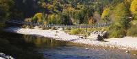 Big Salmon River hanging bridge   Keri May