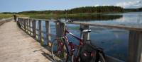 Cycling a series of pretty trail bridges to St Peter's Bay | Guy Wilkinson