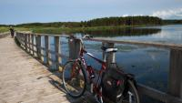 Cycling a series of pretty trail bridges to St Peter's Bay |  <i>Guy Wilkinson</i>