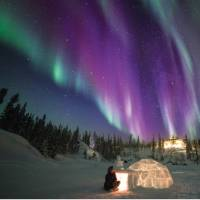 Make your own igloo during a winter Northern Lights Eco Escape | Martina Gebrovska