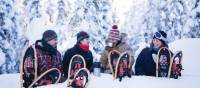 Snowshoes are available to all guests during the winter eco-lodge trips | Martina Gebrovska