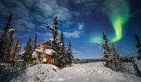 Winter at the eco-lodge near Yellowknife, Canada |  <i>Martina Gebrovska</i>