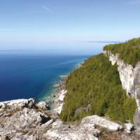 View from Lion's Head Lookout, Bruce Peninsula   Muffy Davies