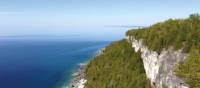View from Lion's Head Lookout, Bruce Peninsula | Muffy Davies