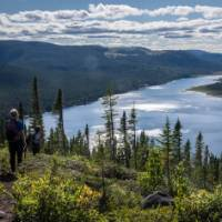 A spectacular day hike from the first hut on the Charlevoix Traverse   Leigh McAdam