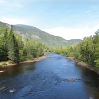 The Malbaie River cuts through the forests and mountains of Charlevoix   Aventure Quebec A. Levesque