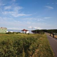 Great cycling along the Gulf Shore Parkway on Northern PEI | Guy Wilkinson