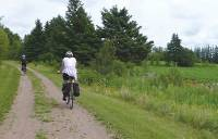 Cyclists on the Confederation Trail, Prince Edward Island |  <i>Caroline Mongrain</i>