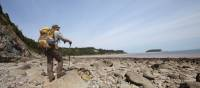 Walking on the remote Fundy Coast during low tide | Guy Wilkinson