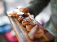 Bacon-wrapped scallops on the Fundy Footpath. |  <i>Guy Wilkinson</i>
