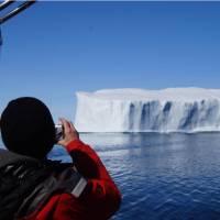 Iceberg spotting on the waters near Pangnirtung, Nunavut | Louis-Philip Pothier