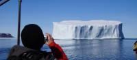 Iceberg spotting on the waters near Pangnirtung, Nunavut   Louis-Philip Pothier