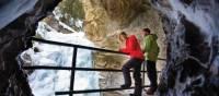 Winter walk in Johnston Canyon | Banff Lake Louise Tourism