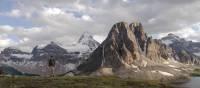 Mount Assiniboine straddling the Alberta/BC border | Destination BC