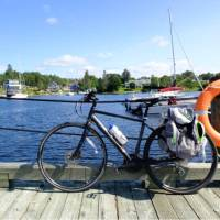 Quality hybrid fully-equipped bicycles are perfect for rail trail cycling