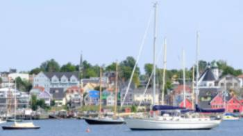 Lunenburg's famous waterfront