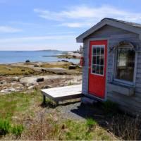 Picturesque cove along Nova Scotia's South Shore