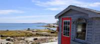 Picturesque cove along Nova Scotia's South Shore