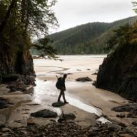 Backpacking in Cape Scott Provincial Park   Destination BC/Shayd Johnson