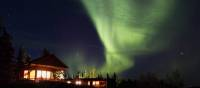 Northern Lights over our Lodge