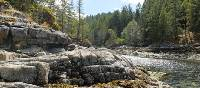Pristine inlets and temperate rainforest of BC's Sunshine Coast