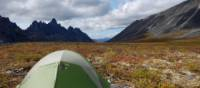 Camping in the Tombstone Range