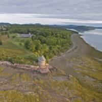 Ministers Island at low tide, New Brunswick   New Brunswick Tourism