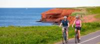 Cycling the Gulf Shore in PEI National Park | Tourism PEI/John Sylvester