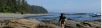 Backpacking along Vancouver Island's beautiful coast