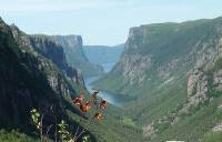 Atop Western Brook Fjord in Gros Morne NP |  <i>Keri May</i>