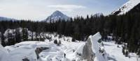 Snowshoe trails in Kananaskis Country, Alberta | Geoff Deman