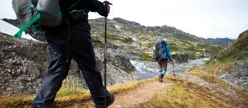 Retracing the steps of the Stempeders' route over the Chilkoot Pass. | Mark Daffey